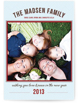 Holiday Love New Year&#039;s Photo Cards