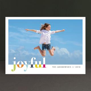 bountiful joy New Year Photo Cards