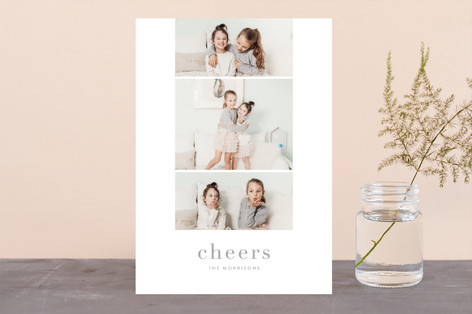 Grace New Year Photo Cards