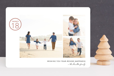 Year-Round Happiness New Year Photo Cards