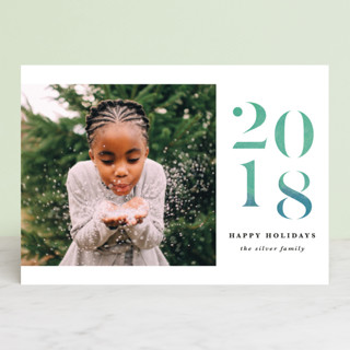 A Very Bright New Year New Year Photo Cards