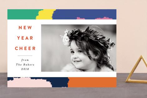 Vivid New Year New Year Photo Cards