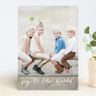 Simple Joy New Year Photo Cards
