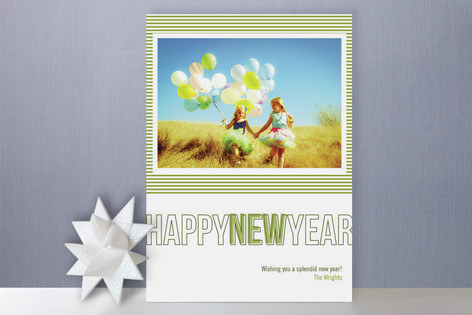 Modern Love New Year's Photo Cards
