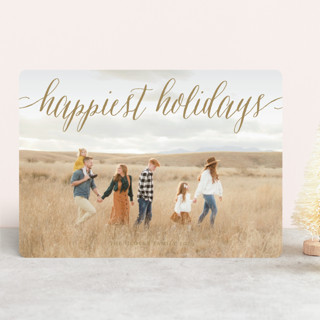 Pure Happy New Year Photo Cards