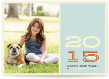 Hip New Year New Year's Photo Cards