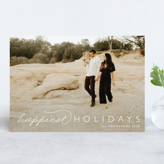 Happiest Of All New Year Photo Cards