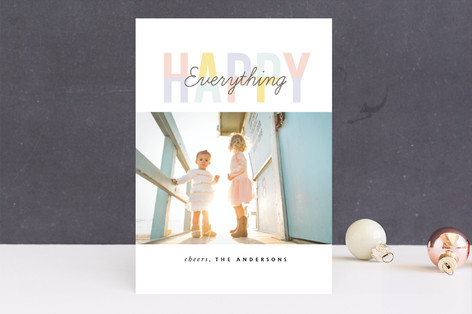 Light Year New Year Photo Cards