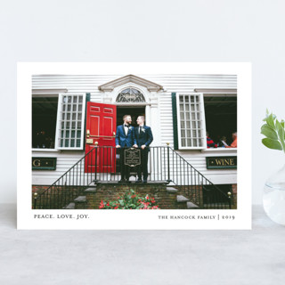 Tiny Blessings New Year Photo Cards