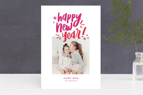 Happy & Bright New Year Photo Cards