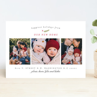Our New Home New Year Photo Cards