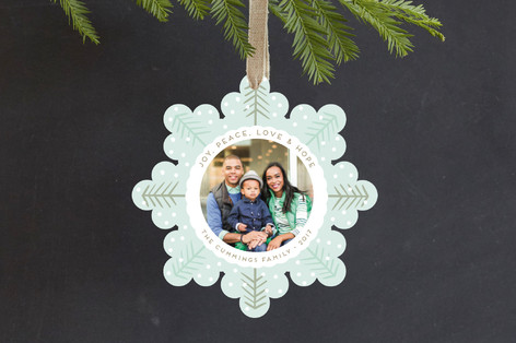 The Forest Holiday Ornament Cards