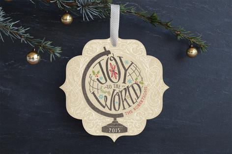Joy Across The Globe Holiday Ornament Cards