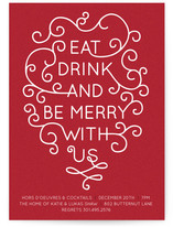 Be Merry with Us! Holiday Party Invitations