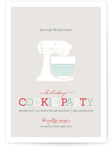 Annual Cookie Party Holiday Party Invitations