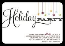 Retro Party Holiday Party Invitations