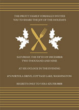 Collation Holiday Party Invitations