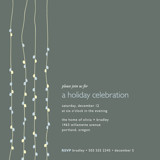 Light Bright Holiday Party Invitations