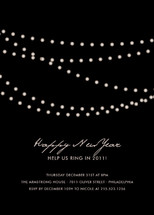 Midnight Vineyard Holiday Party Invitations