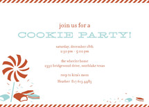 Sweet Tooth Holiday Party Invitations
