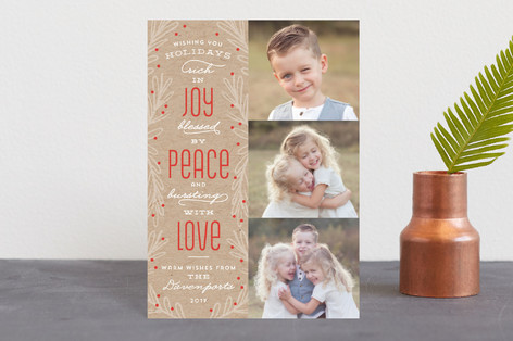 Rich In Joy Holiday Postcards
