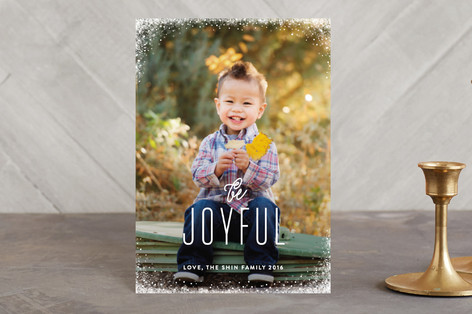 Snow Dipped Holiday Postcards