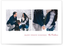 Snowy Frames Holiday Postcards