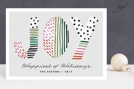 Holiday Joy Doodle Holiday Postcards