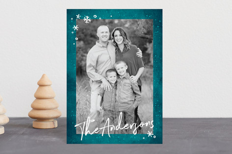 Frost Holiday Postcards