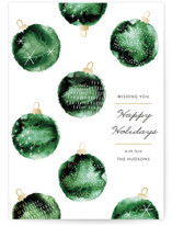 Watercolor ornaments by Jackie Crawford