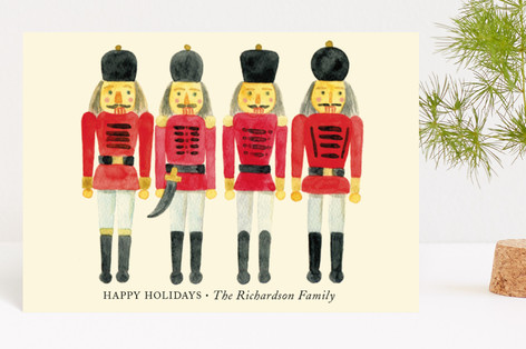 A Nutcracker Christmas Holiday Postcards