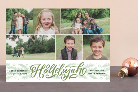 Hallelujah Entwined Holiday Postcards