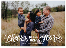 A New Year Cheers by Little Print Design