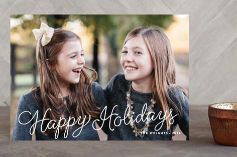 Ribbon Candy Holiday Postcards