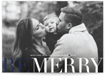 Big and Merry Holiday Postcards