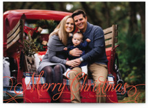 Classic Merry Holiday Postcards