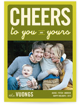 Float + Cheers to You Holiday Postcards