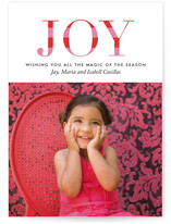 Striped Joy Holiday Postcards