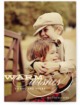 Warm Wishes Holiday Postcards