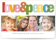 Love &amp; Peace Holiday Postcards