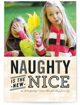 Naughty is Nice Holiday Postcards