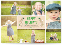 Christmas Blossoms Holiday Postcards