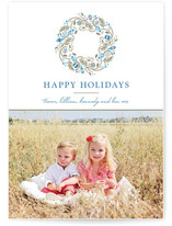 Trimmed Wreath Holiday Postcards