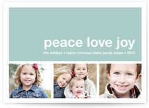 Modern Joy Holiday Postcards