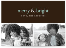 Merry & Bright Holiday Delight Holiday Postcards