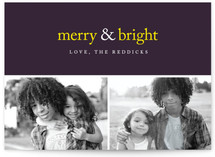 Merry &amp; Bright Holiday Delight Holiday Postcards