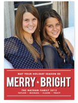 Merry and Bright Holiday Postcards