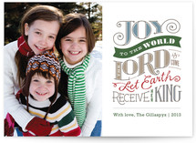 Joy to the World Holiday Postcards