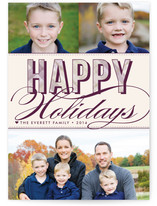 Christmas Plaid Holiday Postcards
