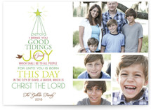 Good Tidings of Joy Holiday Postcards